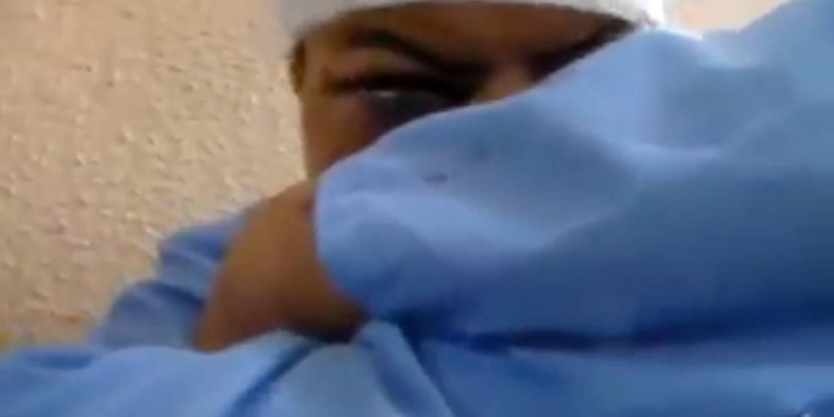 VIDEO. Hombre que atacó a machetazos a familia amenaza con matar a quienes lo golpearon