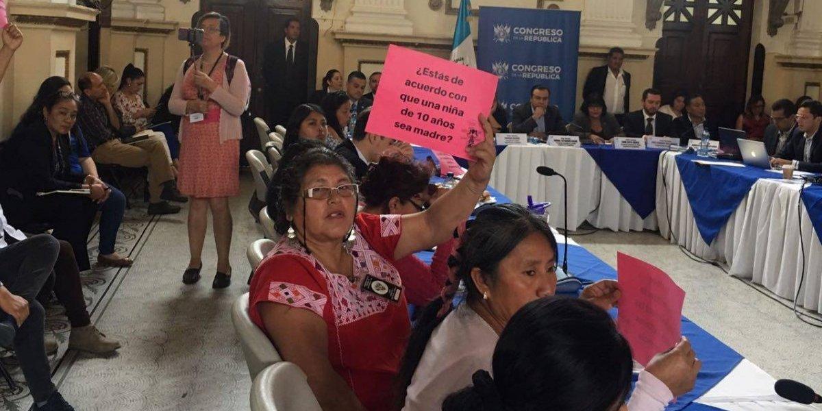 Iniciativa de ley que promueve la reparación a niñas violadas e interrupción del embarazo genera rechazo