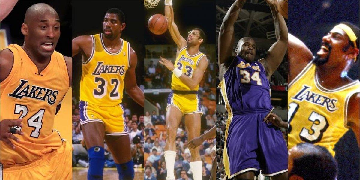 ¿Quién es el mejor jugador en la historia de los Lakers?