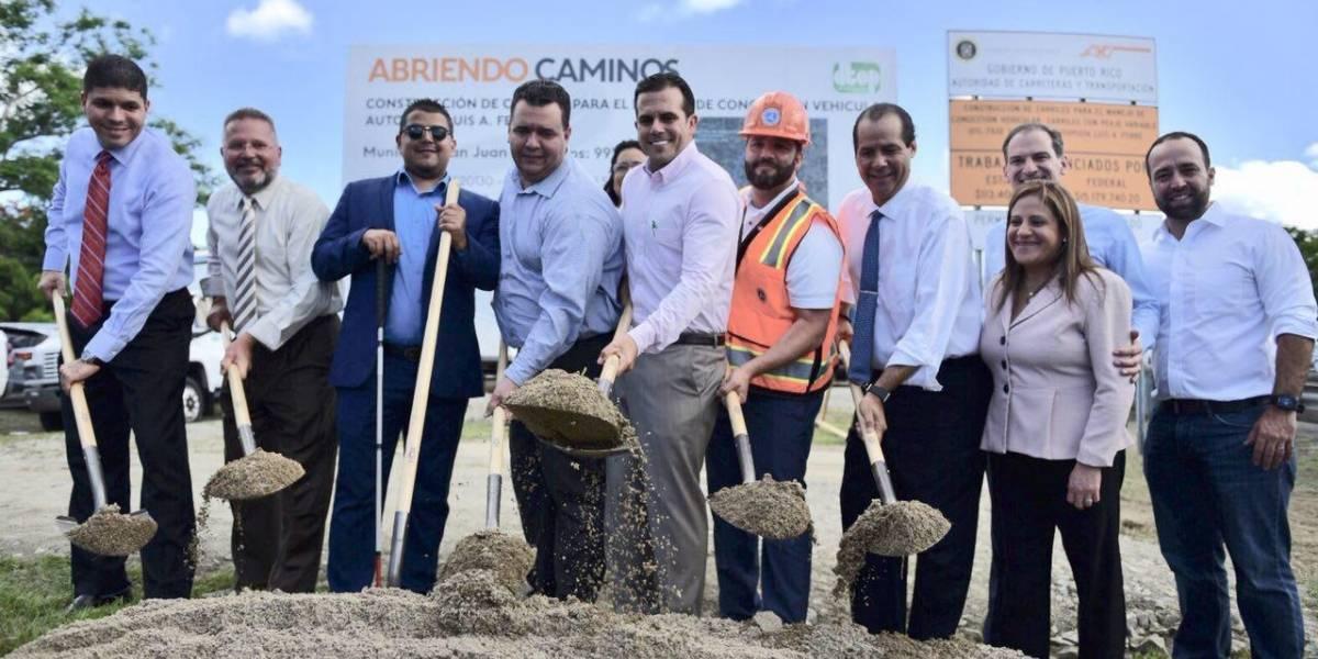 Inicia construcción de carriles reversibles entre Gurabo y Centro Médico