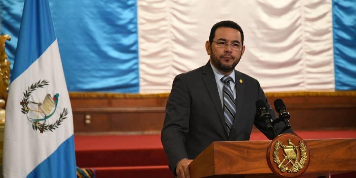 Antejuicio contra Jimmy Morales es enviado al Congreso