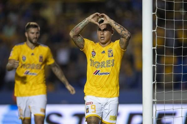 Eduardo Vargas lleva dos goles en el Apertura 2018-2019 de la Liga MX / Foto: Photosport