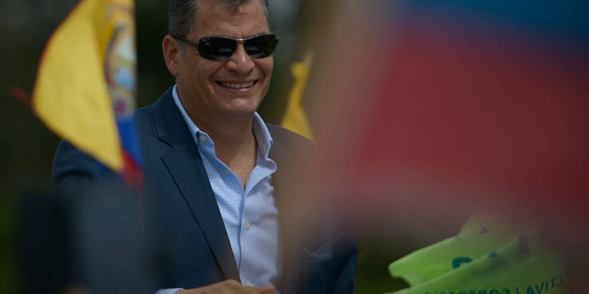 """Rafael Correa: """"No tengo seguridad del Estado, quieren verme muerto o preso"""""""