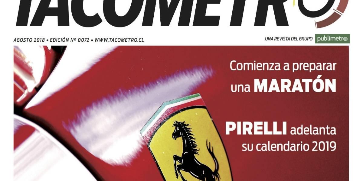 A toda velocidad llega la revista Tacómetro de agosto