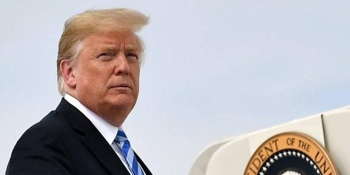 """Trump expresa """"respeto"""" por McCain y ordena colocar a media asta las banderas"""