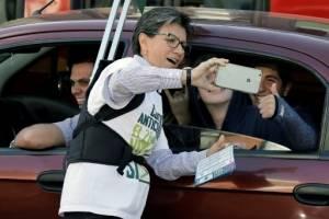 La exsenadora Claudia López, promotora de la iniciativa