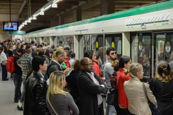 Estação Sacomã da linha 2-Verde do Metrô