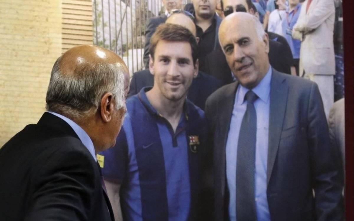 Sancionado por incitar el odio hacia Messi y la selección