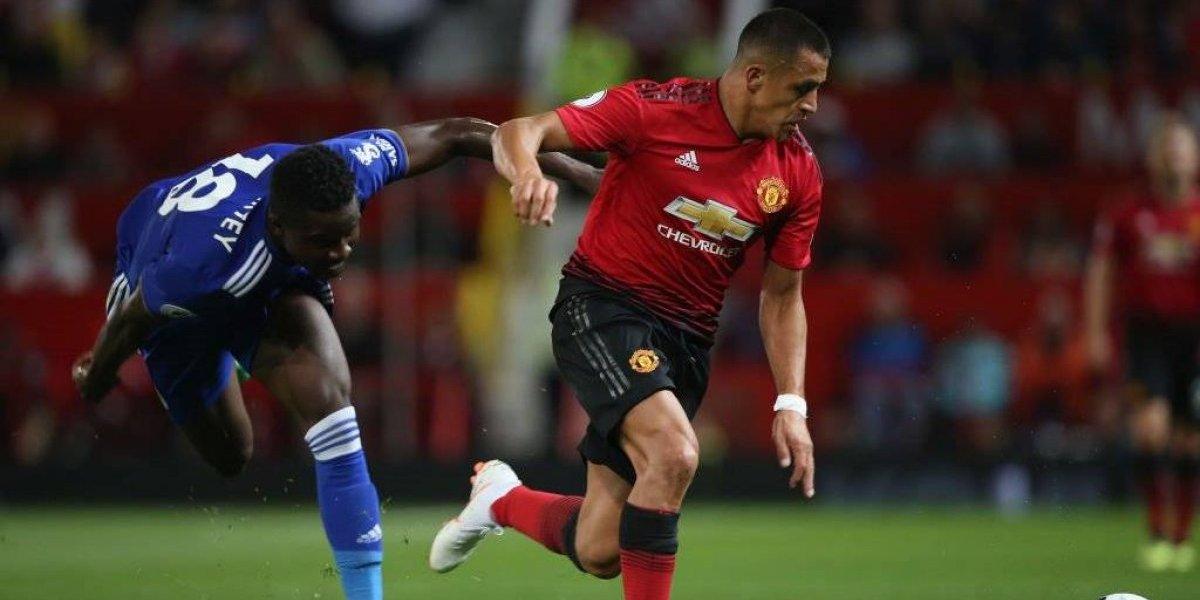 Alexis Sánchez se recuperó de su lesión y está listo para volver en Manchester United