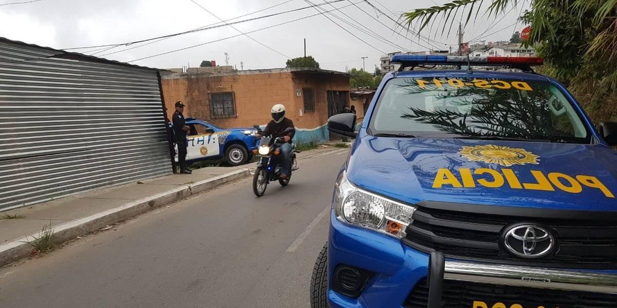 MP y PNC realizan operativo contra presuntos pandilleros