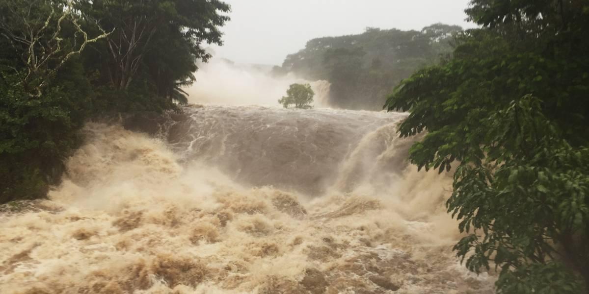 Lluvias intensas y refugiados ante paso de huracán Lane por Hawai