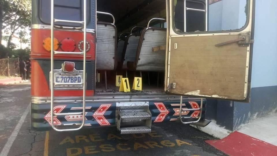 asalto a bus en Escuintla