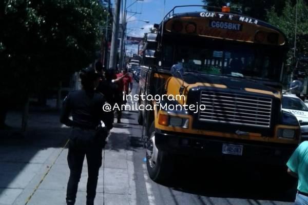 asalto a bus en zona 12