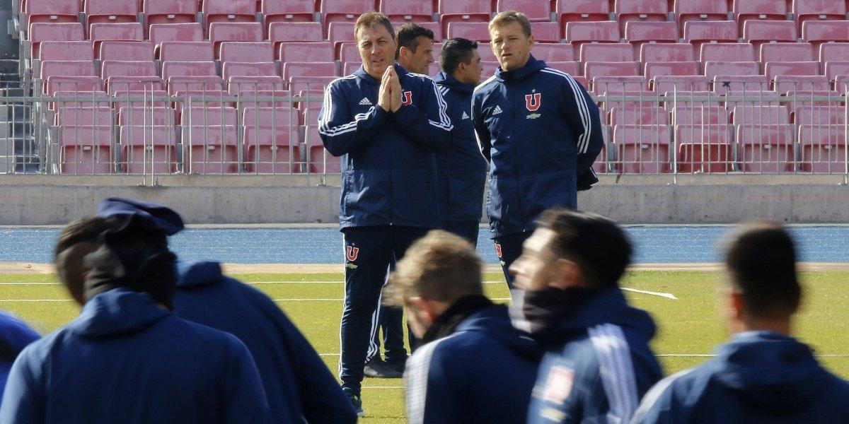 Kudelka definió la formación de la U para el Superclásico con Colo Colo y Beausejour irá a la banca