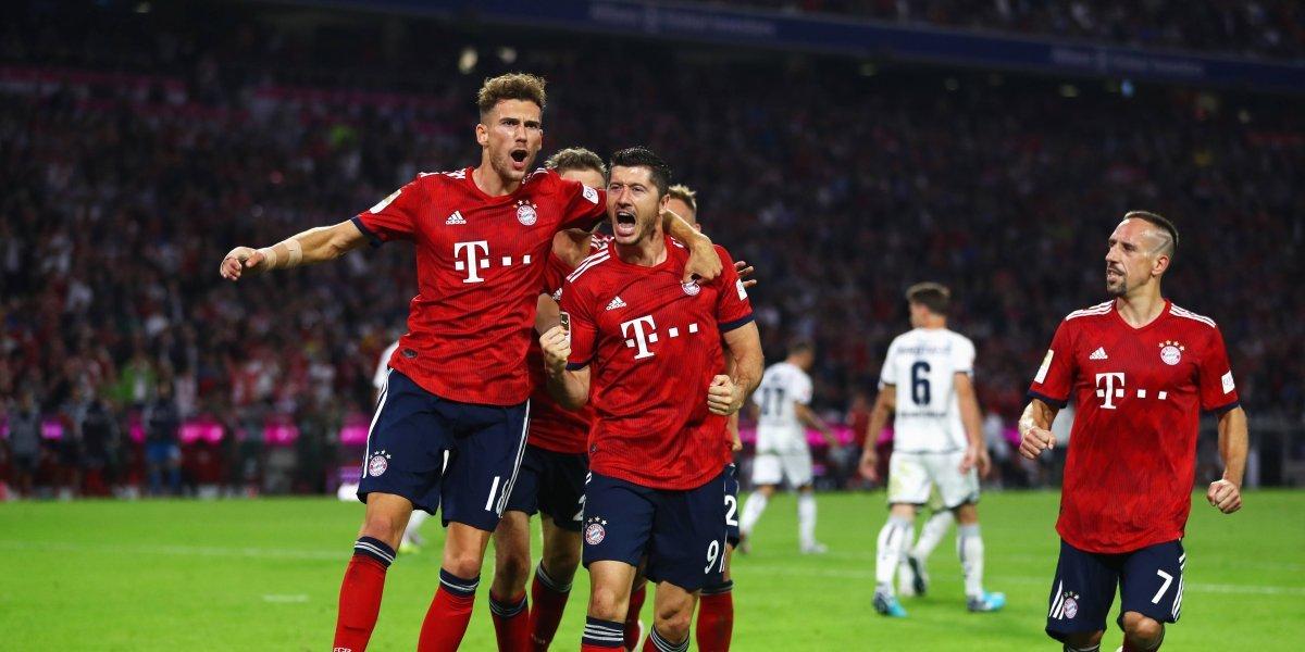 Bayern Múnich inició con victoria la defensa de su título