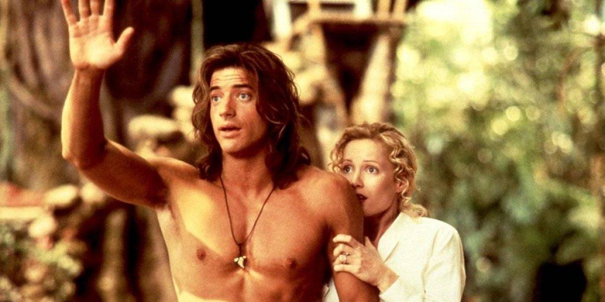 Brendan Fraser vuelve al cine, mira el drástico cambio del galán de los 90