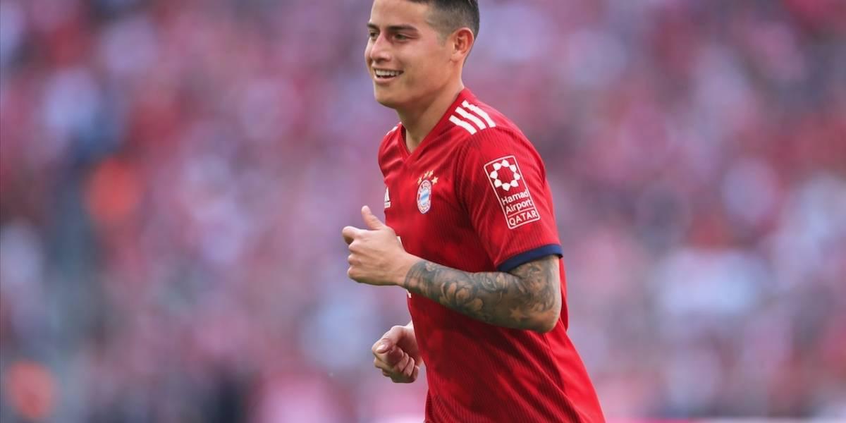 Bayern Múnich, con James, debuta en la Bundesliga ante Hoffenheim