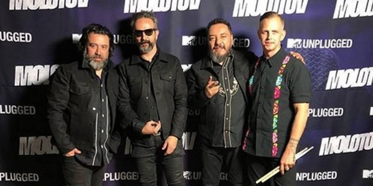 ¡Gimme the power!: Molotov estrenó unplugged en la cadena MTV