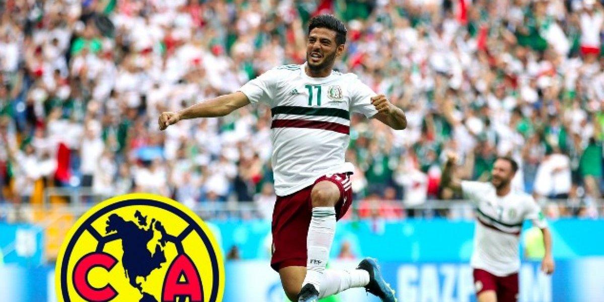 Carlos Vela podría jugar en América antes que en Chivas