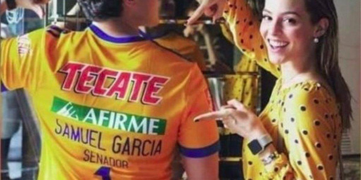 Ratifican a senador que usó jersey de Tigres y de la Selección durante su campaña