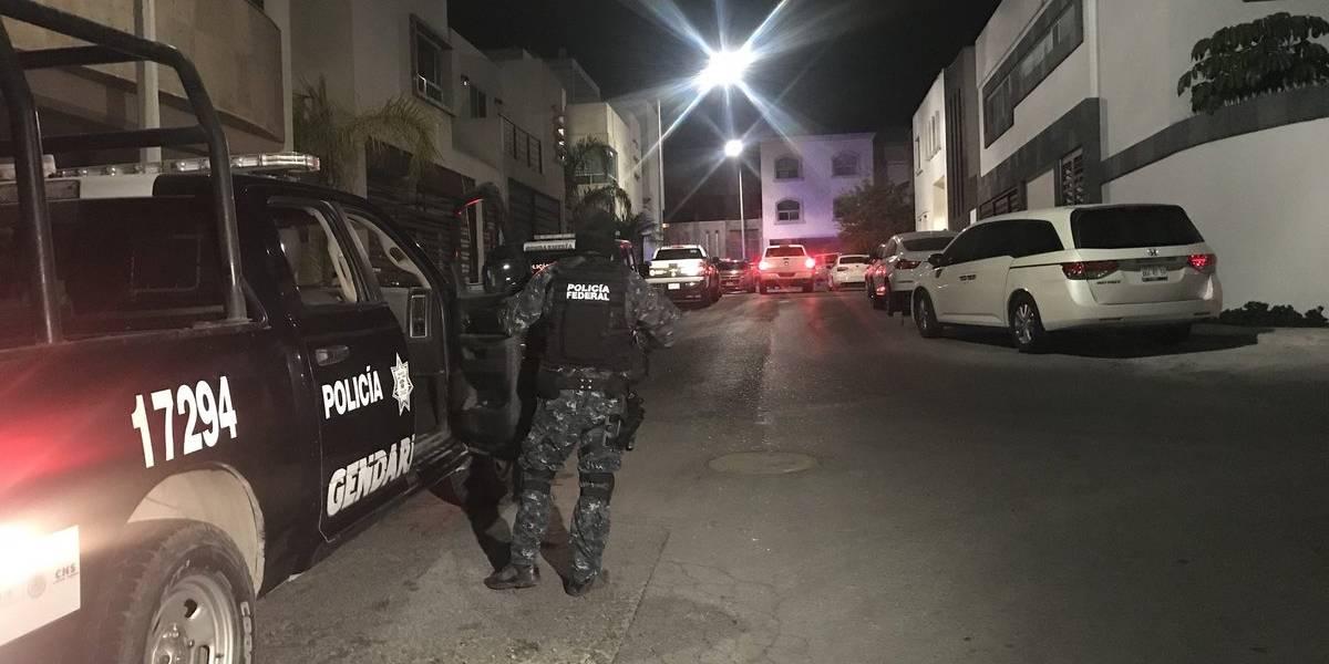 Tras cateo, detienen a líder criminal en Monterrey