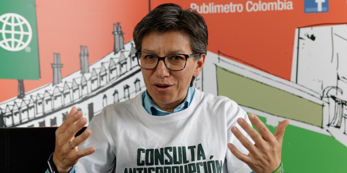 Confirmado: Claudia López se lanza a la alcaldía de Bogotá