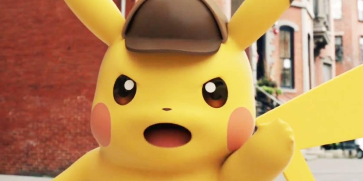 Presentan el logo oficial de la película Detective Pikachu