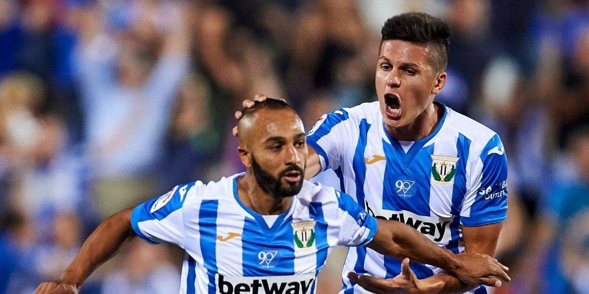 Con Héctor Moreno, Real Sociedad empata con Leganés