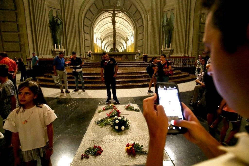El Valle de los Caídos es una basílica católica y un conjunto monumental español construido entre 1940 y 1958 Foto: AP