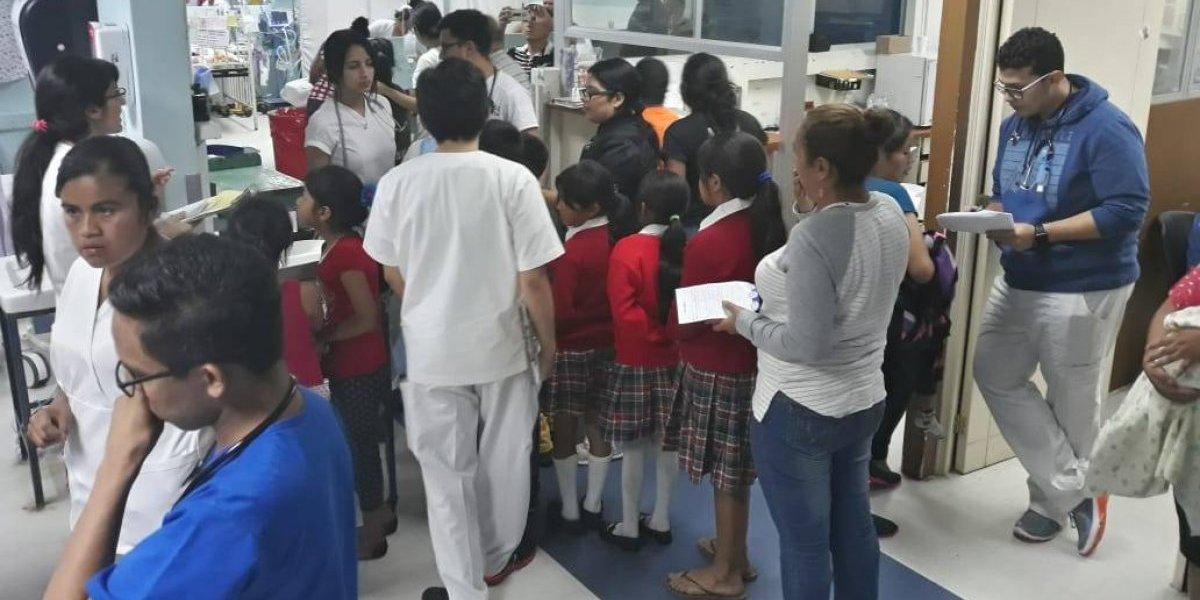 Reforzarán capacitación de padres de familia tras intoxicación de estudiantes