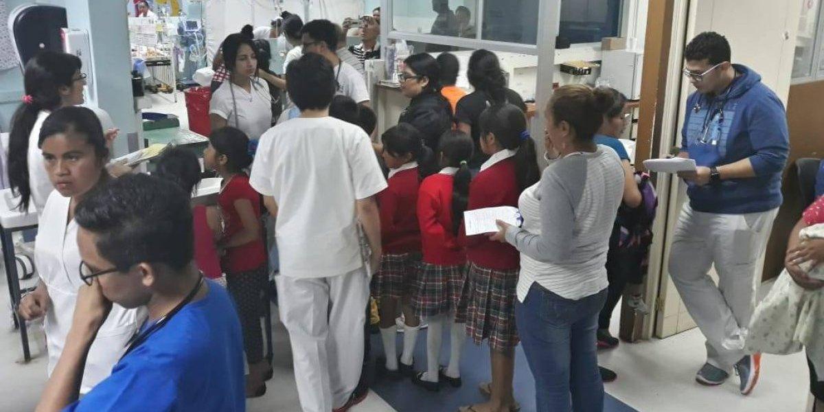 Ministro de Educación resalta dos factores que habrían generado intoxicación de estudiantes
