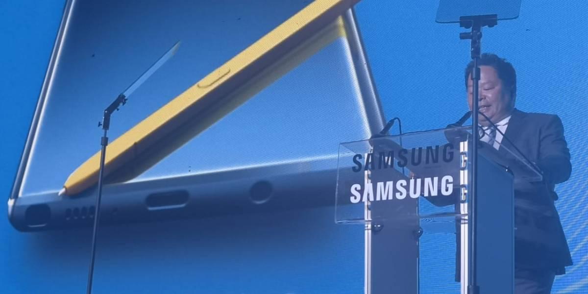Samsung presenta el nuevo Note9 'El teléfono más poderoso del mundo'