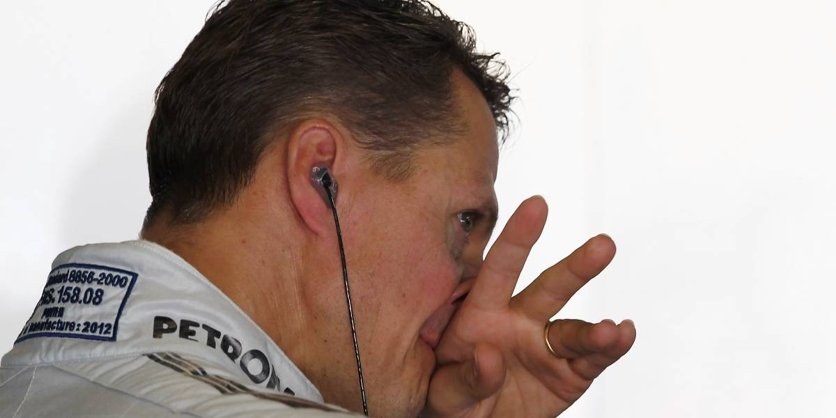 El triste motivo que hace llorar en silencio a Michael Schumacher