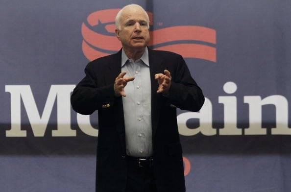 Fue candidato del Partido Republicano de Estados Unidos para las elecciones presidencial de 2008, que perdió frente al demócrata Barack Obama. Foto: Getty Images