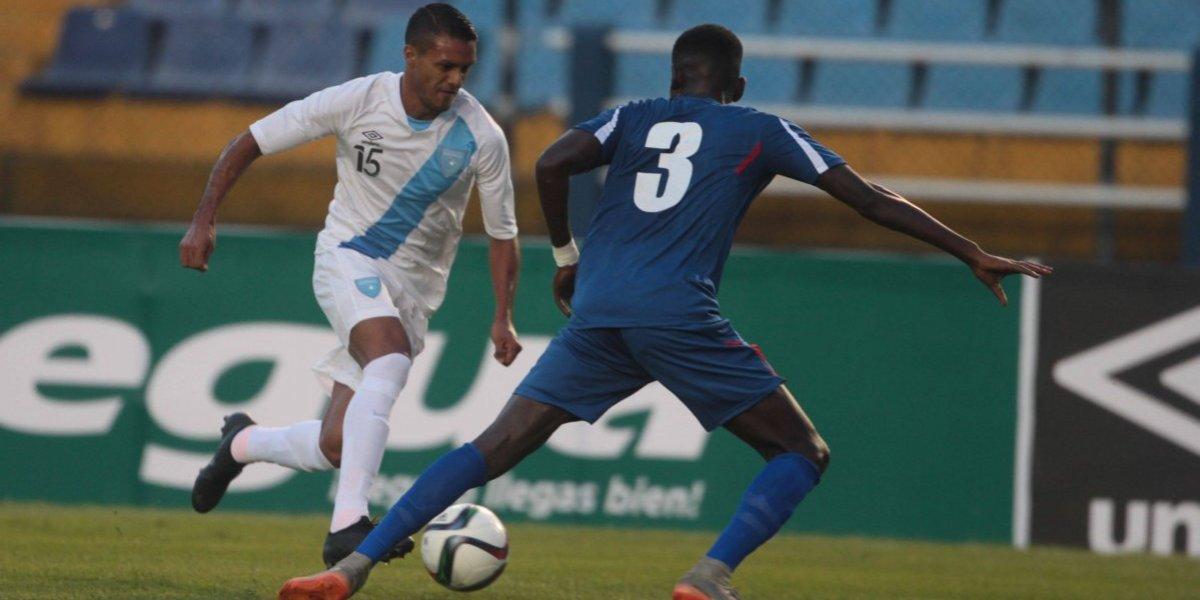 Guatemala  jugará ante dos selecciones mundialistas