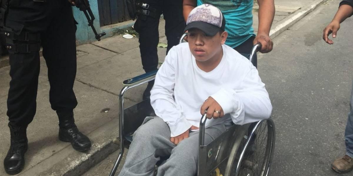 """""""El pitufo"""" el líder de una clica del Barrio 18 que dirige asesinatos desde su silla de ruedas"""