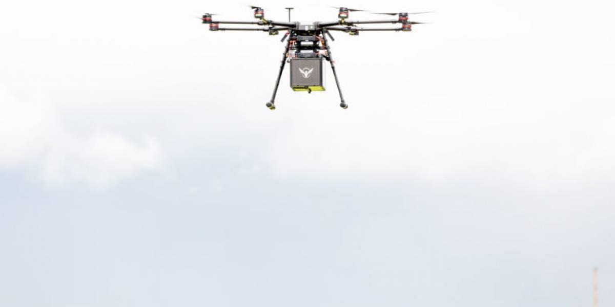 Prueban sistema de entrega de medicamentos a través de drones en caso de emergencias