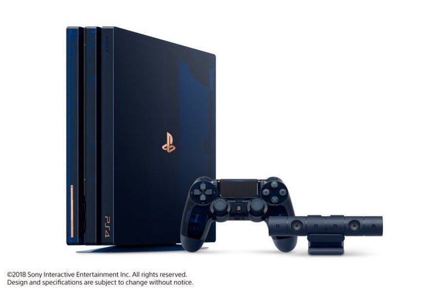 Consigue una PS4 Pro 500 Million Limited Edition — Sorteo
