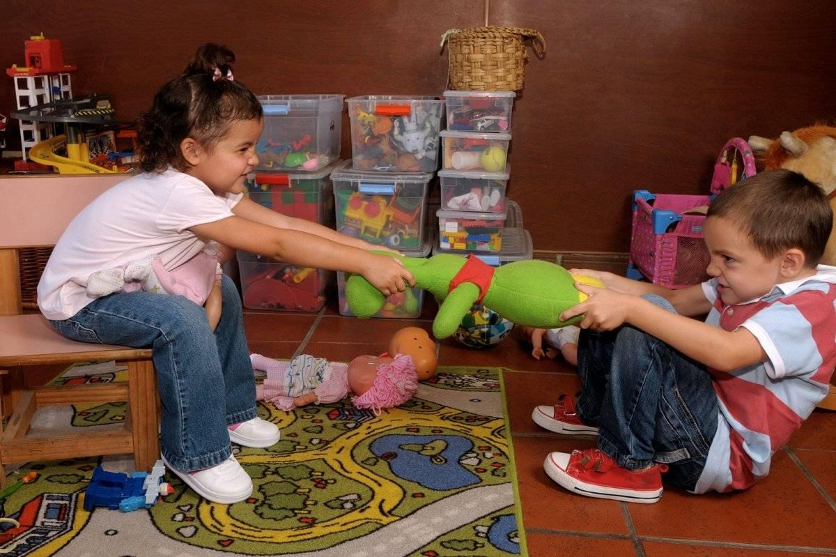 Niños pelea