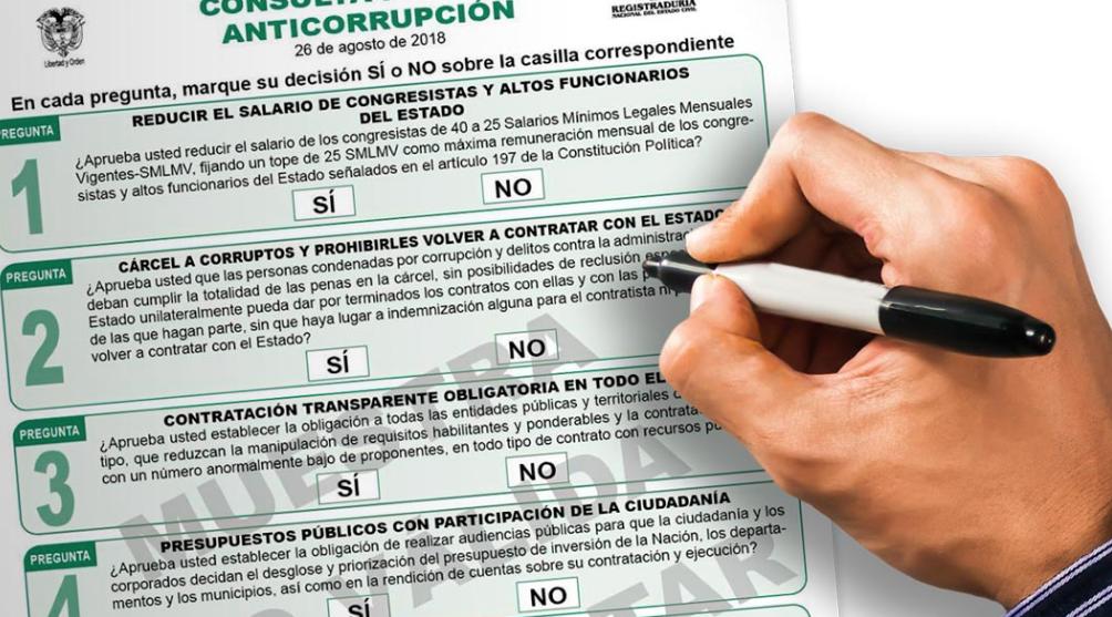 Así transcurren las votaciones de la consulta anticorrupción en el país