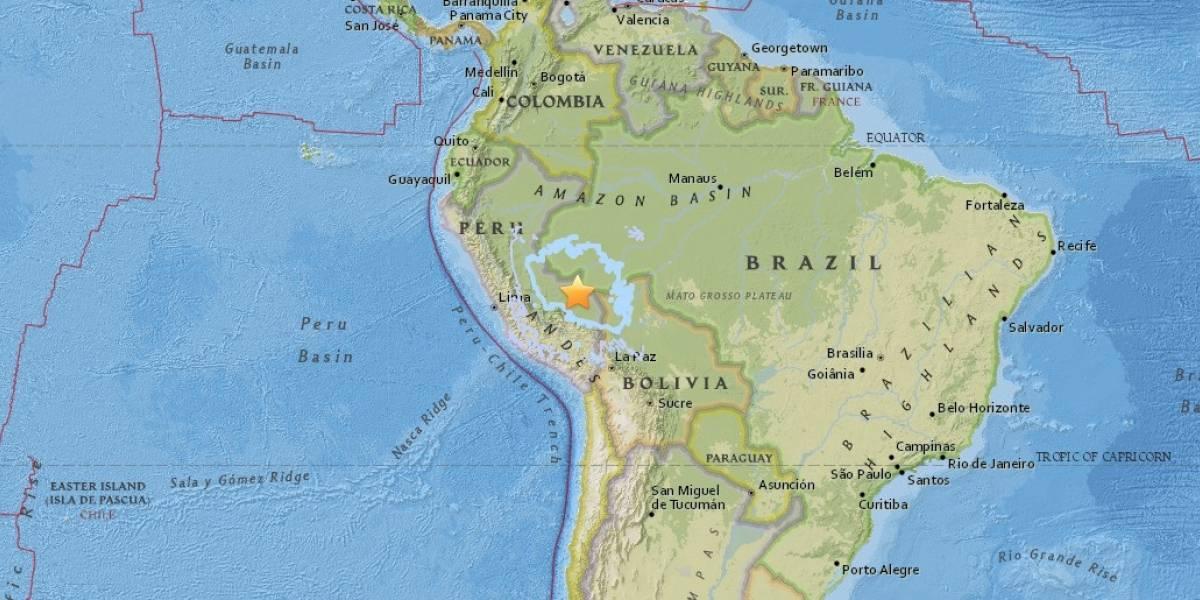 Terremoto de 7 grados ocurre en la frontera entre Perú y Brasil