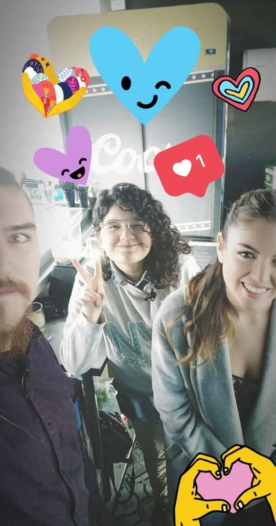 HoyCBB con Constanza Piccoli, animadora del backstage de Rojo
