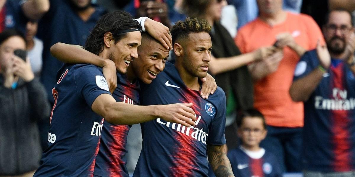 Cavani, Mbappé y Neymar hacen de las suyas y le dan el triunfo al PSG