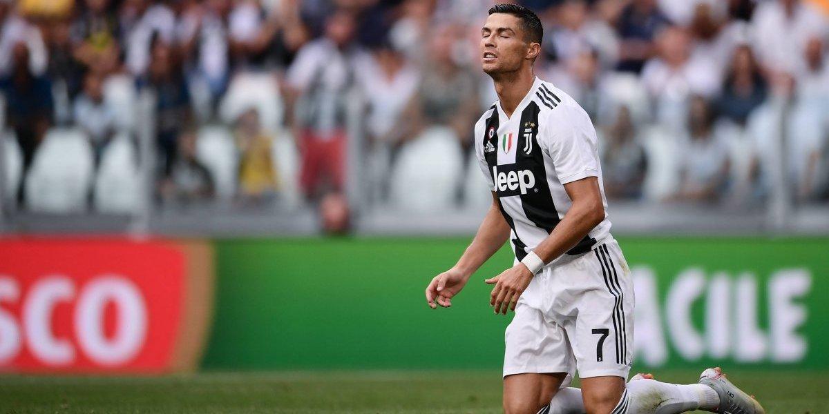 La Juventus vuelve a ganar, pero Cristiano Ronaldo no pudo anotar ante su nueva afición