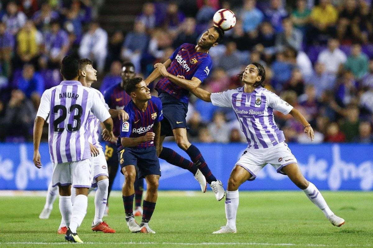 El Barcelona fue amplio dominador