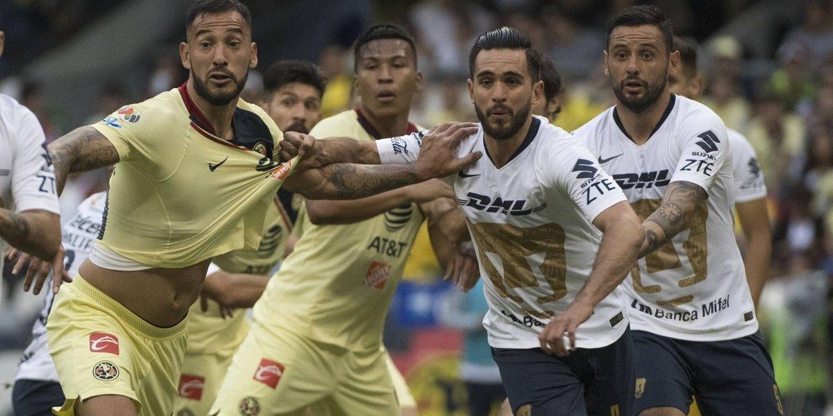 Con nueve hombres, América rescata heróico empate en el Clásico Capitalino