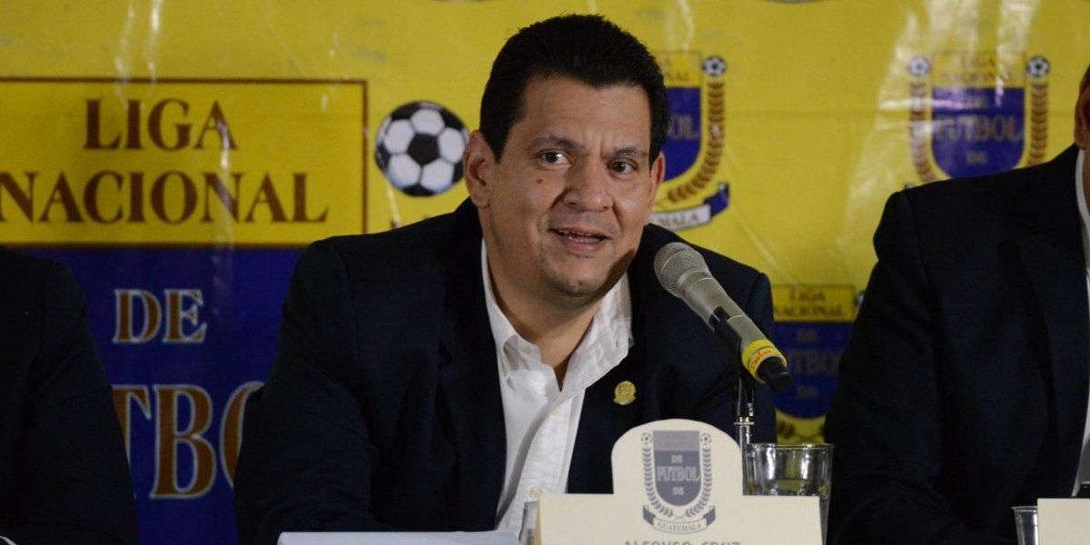 Presidente de la Liga Nacional presenta denuncia en contra de Fredy Thompson