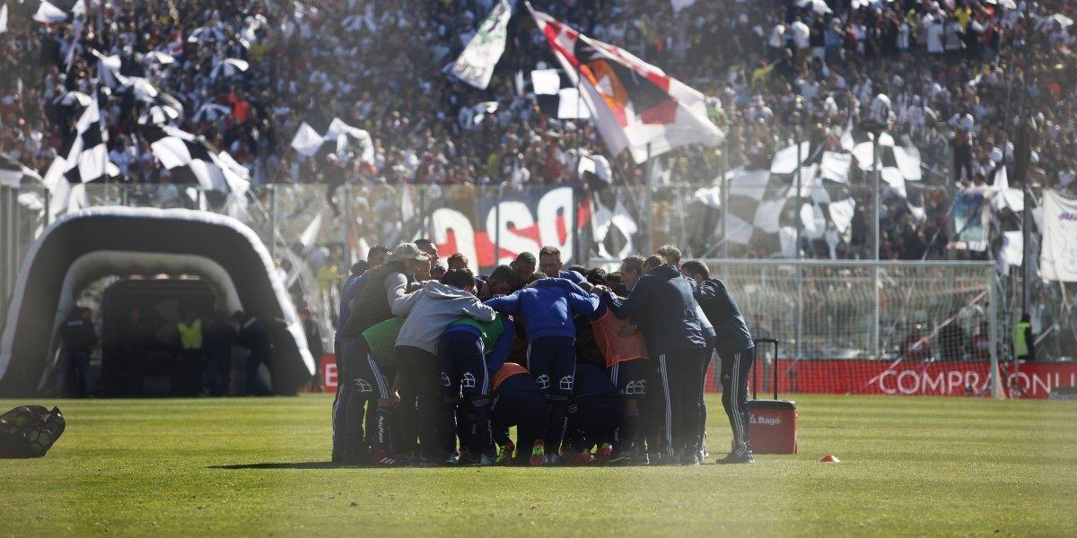 Uno a uno de la U: El equipo de Kudelka no llegó al Monumental para el Superclásico