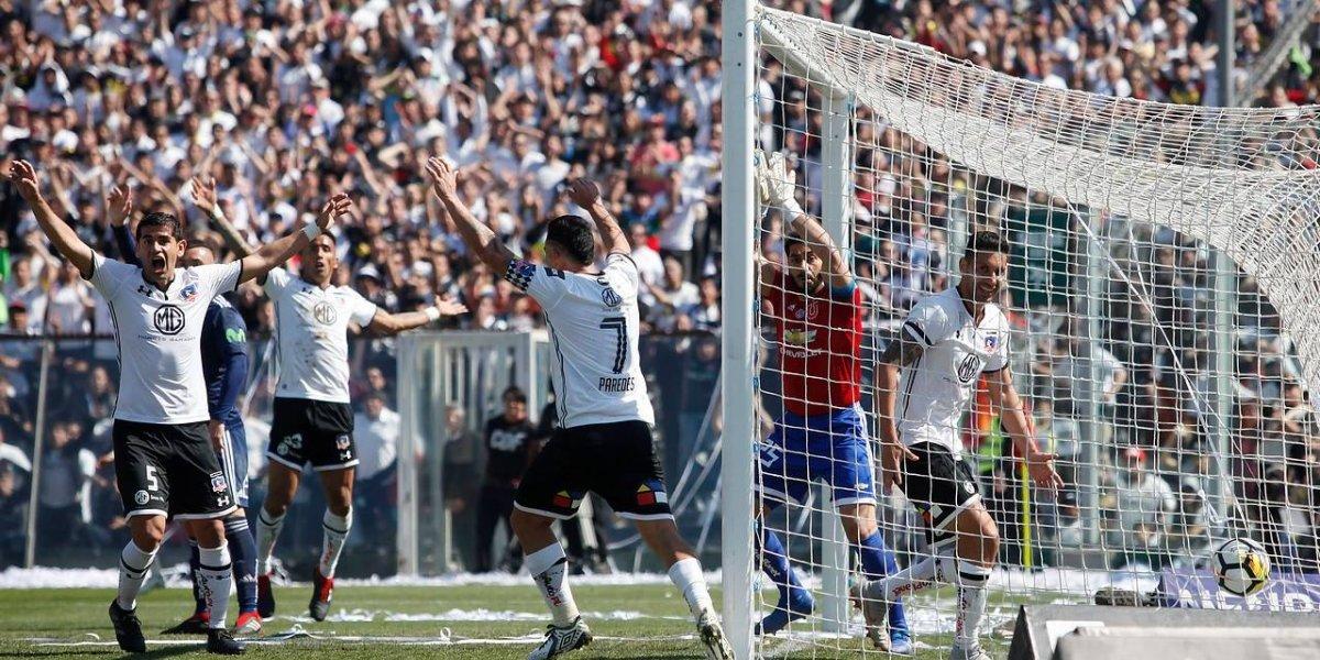 """Colo Colo alargó su """"eterna"""" paternidad ante la U en el Monumental y ganó con un gol de rebote el Superclásico"""