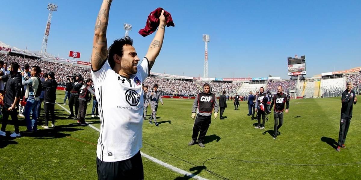 """El Mago Valdivia pone mesura en Colo Colo: """"No fue vistoso, pero se ganó y estamos felices"""""""